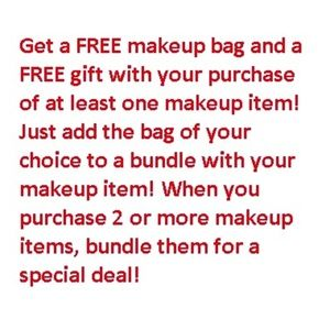 Other - Special Deals on Makeup Items!